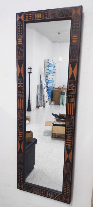 Espejo diseño tribal vintage