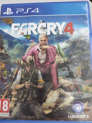 PS4 FARCRY4 PAL ESP usado