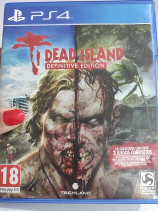 PS4 DEAD ISLAND DEFINITIVE EDITION PAL usado