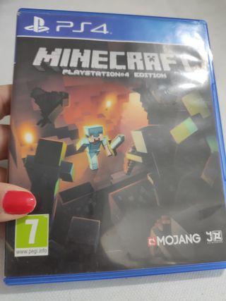 PS4 MINECRAFT PLAYSTATION 4 EDITION PAL