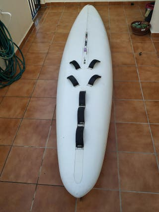 Tabla windsurf antigua iniciacion