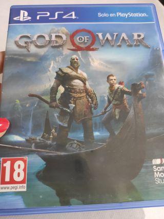 PS4 GOD OF WAR PAL usado