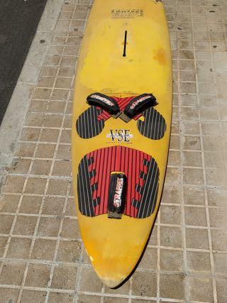 Tabla windsurf olas antigua