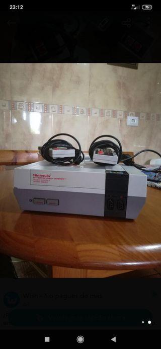 Consola videojuegos Nes