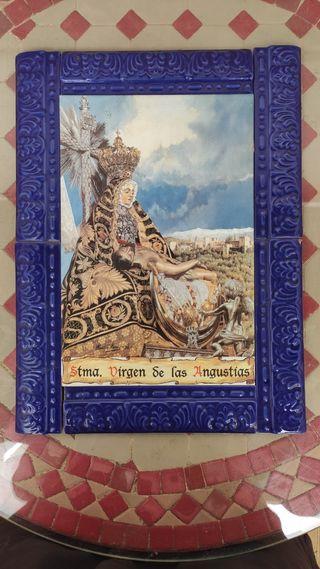 Azulejo de la Virgen de las Angustias