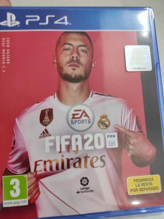 PS4 FIFA20 PAL ESP usado