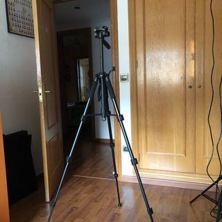 Trípode para fotografía (nuevo)