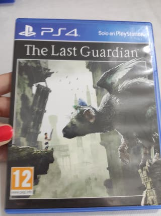 PS4 THE LAST GUARDIAN PAL usado