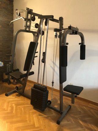 maquina completa para hacer deporte