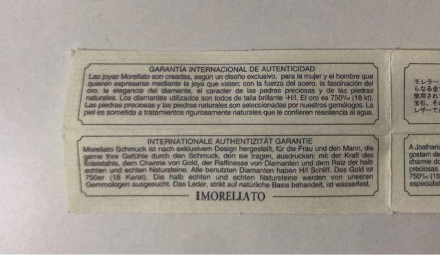 Pulsera Morellato Unisex, Acero y Cuero.