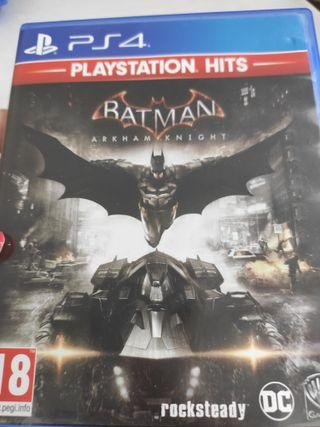 PS4 BATMAN ARKHAM KNIGHT PAL ESP
