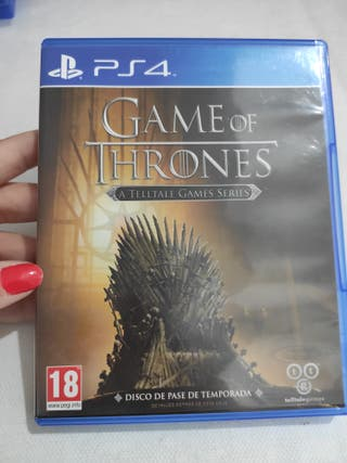 PS4 GAME OF THRONES PAL usado