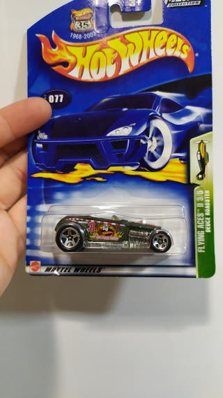 Hot wheels Hot Rod roadster cromado