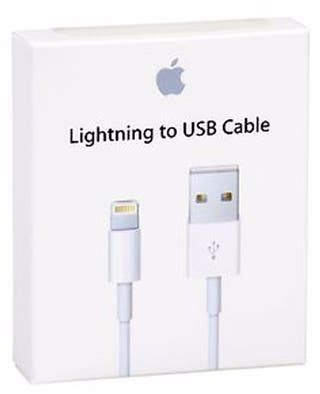 Apple cable Lightning-USB original NUEVO