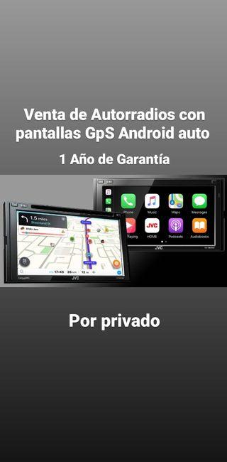 Venta de pantallas con GPS y kit de xenon