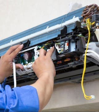 Reparación de Aire Acondicionado/Bomba de Calor