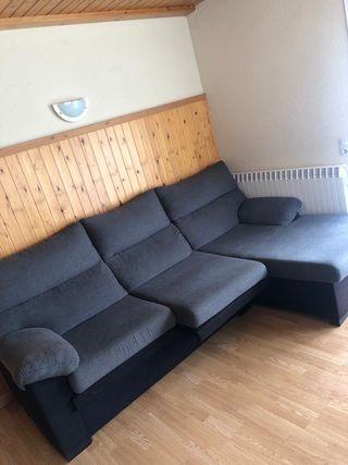 Sofa chaiselongue!