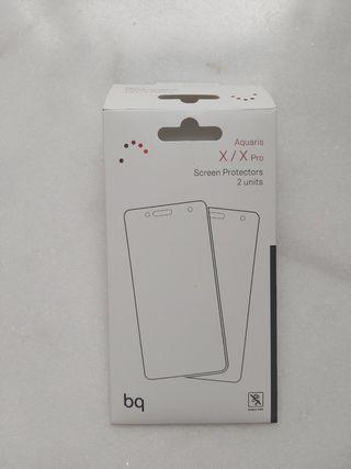 protector móvil BQ aquaris x/ X pro