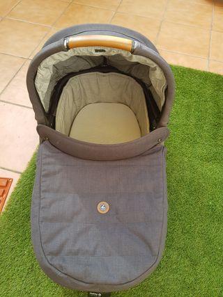 carrito bebé capazo y silla