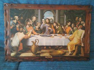 cuadro de la última cena , vintage