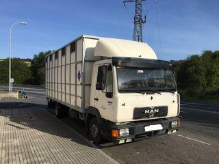 Camión transporte animales