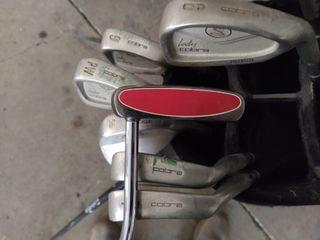 Juego palos golf mujer