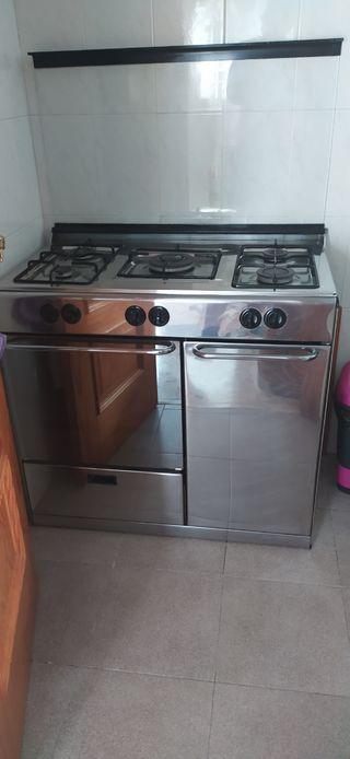 hornilla de gas con horno