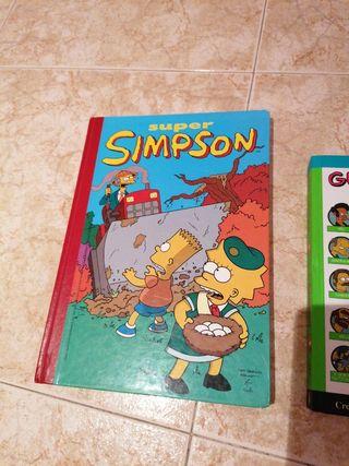 Los Simpson - cómic y guía
