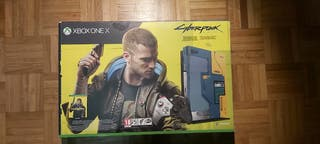 Xbox One X ciberpunk 2077
