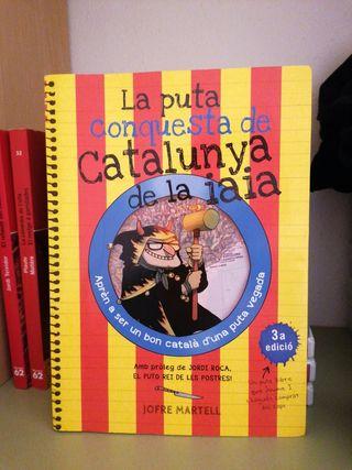 Llibre - La puta conquesta de Catalunya de la iaia