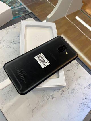 Samsung galaxy A6 32gb negro