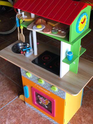 Cocina Madera Imaginarium
