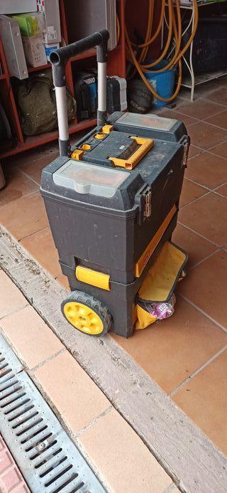 Baul Cofre Caja Herramientas con ruedas