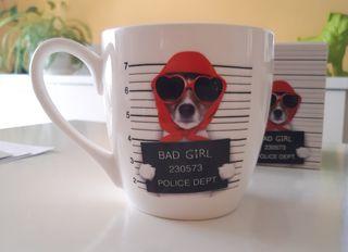Taza cerámica Bad girl