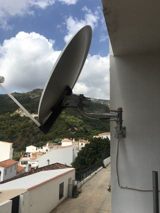 Parabola, satellite dish