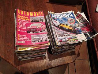 Vendo lote revistas Automóvil 107 ejemplares