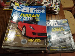 Vendo lote de revistas car & techno y Evo España.