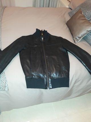 chaqueta hombre de piel de celio