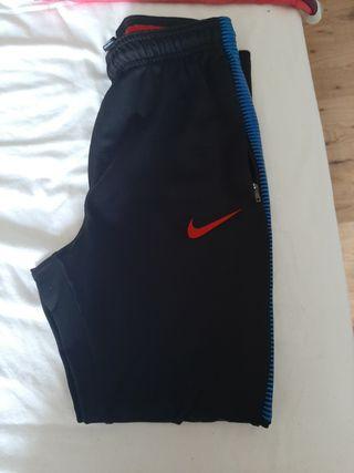 """pantalón nike largo """"sport"""" con el logo del barça"""