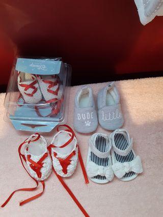 zapatos para bebé de 0 a 3 meses