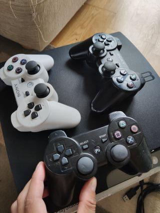 Playstation 3 slim 250gb original + 10 juegos.