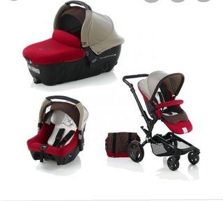 Carro de bebe completo Jane Rider (4 piezas)