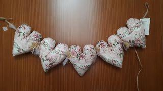 Guirnalda 5 corazones