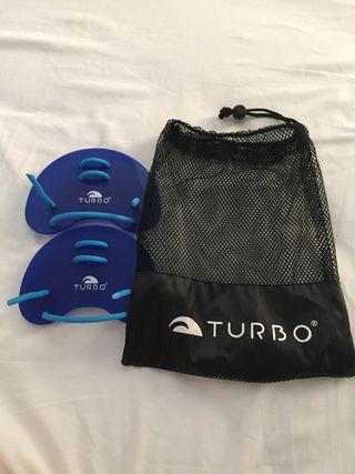Palas de natación Turbo