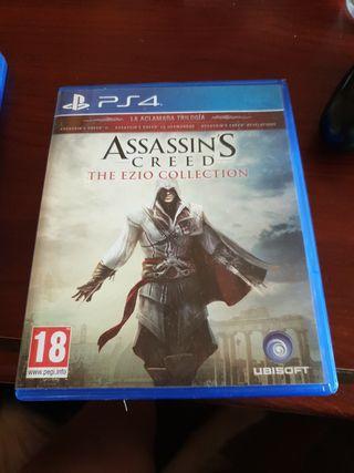 Assassins creed Ezio collection ps4