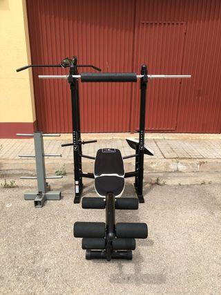 Máquina de musculación Domyos BM 490