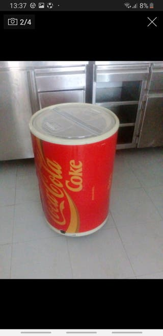 Nevera retro vintage coca cola