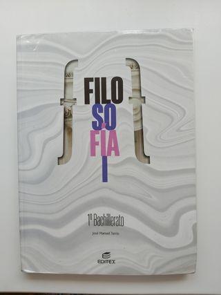 Libro Filosofía 1°Bachillerato Ed.Editex