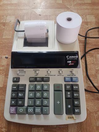 Sumadora calculadora Canon