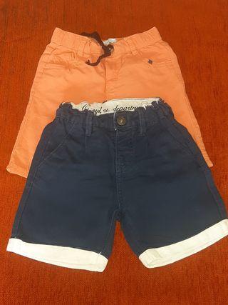 pantalón corto niños verano